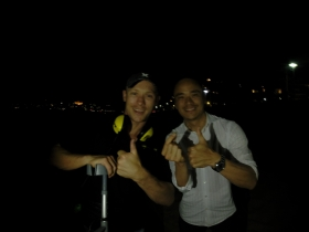 Recovered Johns Lost Gold Ring MANLY Beach night recovery.